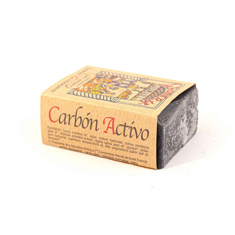 Jabón CARBÓN ACTIVADO