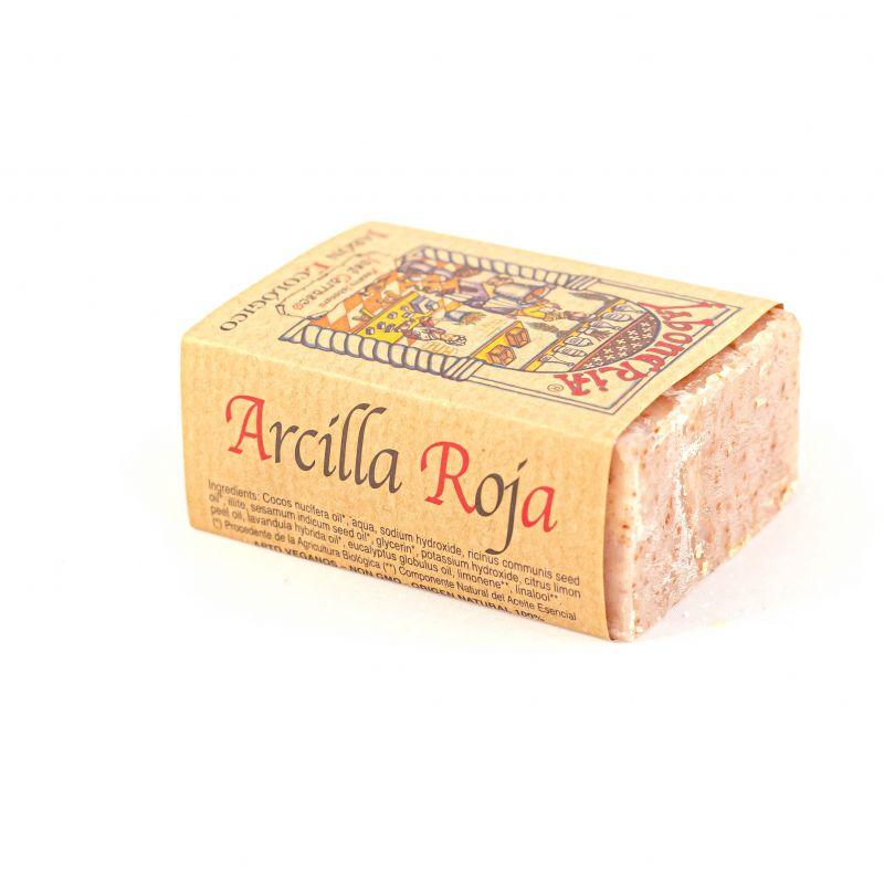 Jabón ARCILLA ROJA