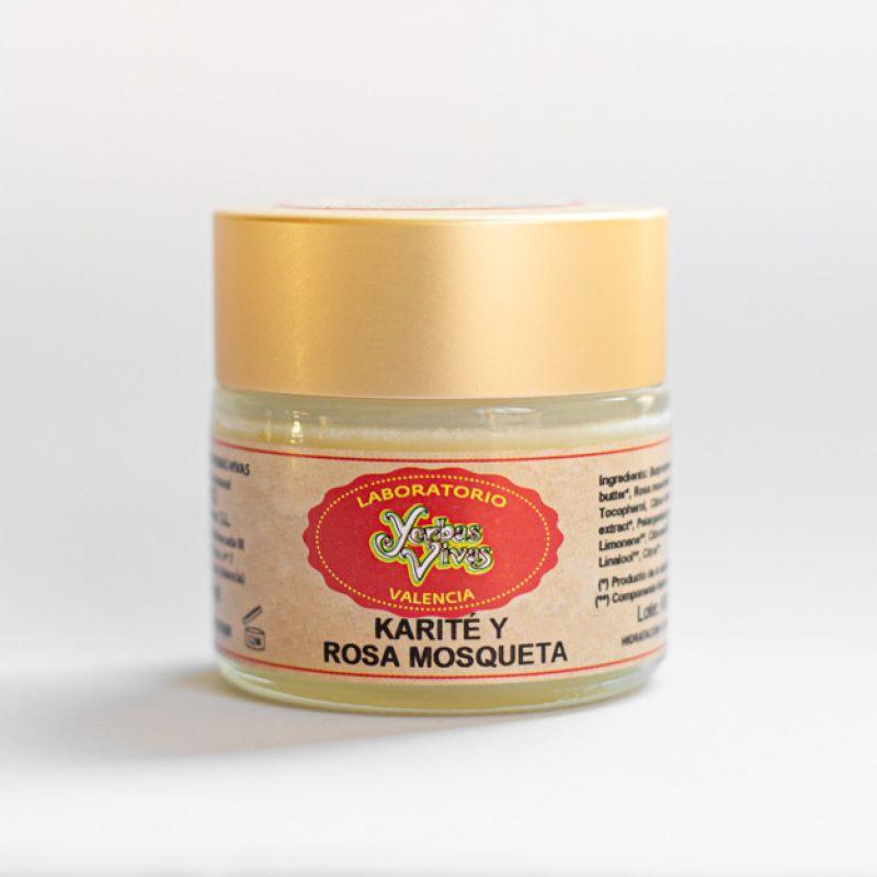 Manteca Karité con Rosa Mosqueta 60ml