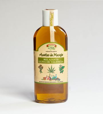 Aceite Masaje BIO Relax Luna de Valencia 200ml
