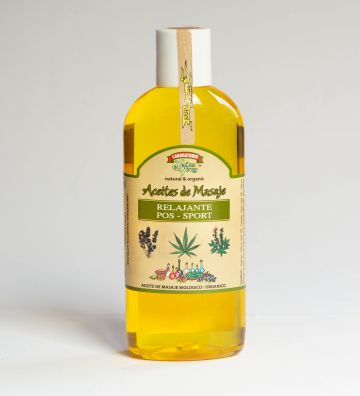 Aceite Masaje BIO Post-Sport 200ml
