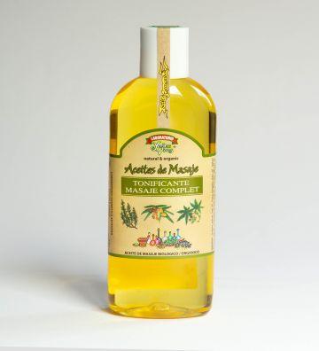 Aceite Masaje BIO Tonificante 200ml